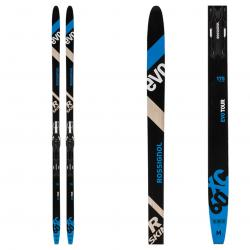Rossignol R Skin EVO XC 60 mounted Cross Country Skis with Control Step In Bindings
