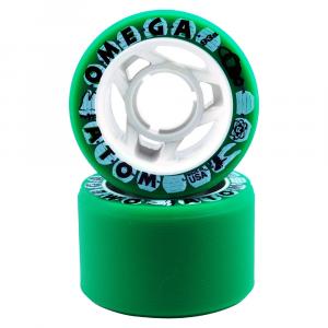 Atom Omega Roller Skate Wheels - 8 Pack