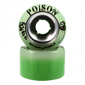 Atom Poison Alloy Roller Skate Wheels