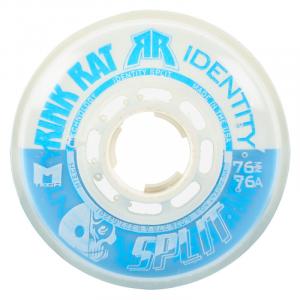Rink Rat Identity Split 76A Inline Hockey Skate Wheels - 4 Pack
