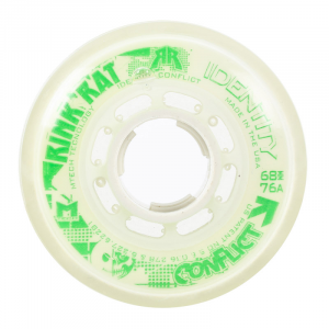 Rink Rat Identity Conflict 76A Inline Hockey Skate Wheels - 4 Pack