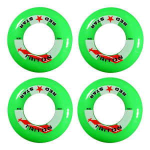 Red Star Triton 82A Inline Hockey Skate Wheels - 4 Pack