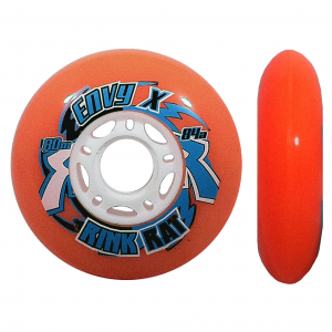 Rink Rat Envy X Outdoor 84A Inline Hockey Skate Wheels - 4 Pack