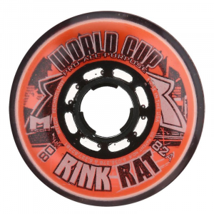 Rink Rat World Cup 82A Inline Hockey Skate Wheels - 4 Pack