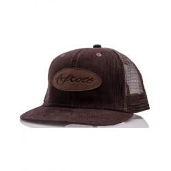 Scott Fly Rod - Brown Corduroy Flat Brim Mesh