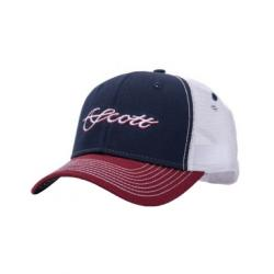 Scott Fly Rod - Mesh Hat w/ Two Tone Scott Scr
