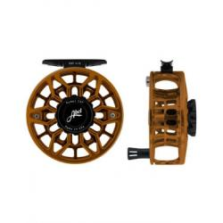 Abel SDF 4/5 Reel - Ported - Black Red Fade - 4/5