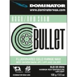 Dominator Race Wax Bullet Cold New Snow - 100 - One Color - One Size