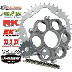 JT 525 Aluminum Sprocket And Chain Kit With Carrier