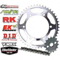 JT 525 Steel Sprocket And Chain Kit