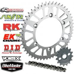 JT 520 Aluminum Sprocket And Chain Kit
