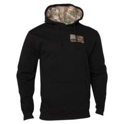 Buck Wear Men's Back In Black Casual Hoodie - Black M