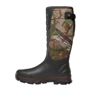 LaCrosse Men's 4X Alpha 3.5mm Neoprene Insulated Waterproof Hunting Boots – Realtree Xtra Green 7