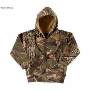 King's Camo Youth Camo Hunting Hoodie – Woodland Pink 3-6 Month