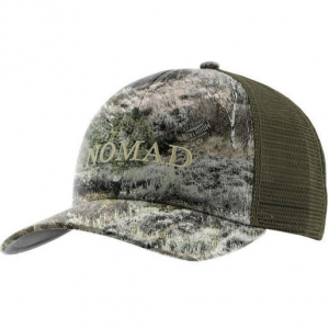 Nomad Men's Camo Trucker Hat – Mossy Oak Mountain Country One Size Fits Most