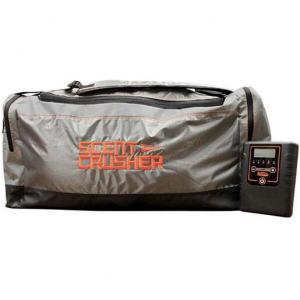 Scent Crusher Standard Gear Bag – Gray/Orange/Black 28in x 10.5in x 12in