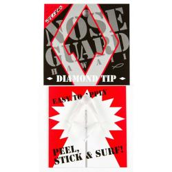 Surf Co Diamond Tip Nose Guard - Clear