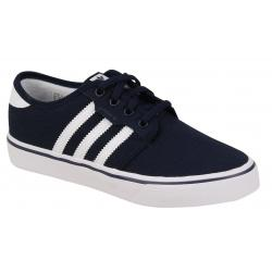 Adidas Kid's Seeley Shoe - Collegiate Navy / White - Youth 5