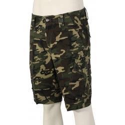 Fox Slambozo Camo Cargo Shorts - Green Camo - 44