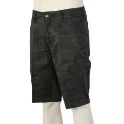 Fox Essex Camo Walk Shorts - Black Camo - 44