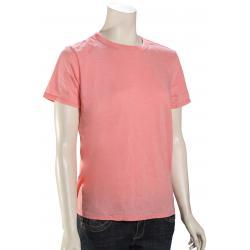 Hurley Burnout Women's T-Shirt - Pink Gaze - XL
