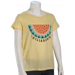 Billabong Girl's Summer Treat T-Shirt - Mimosa - L