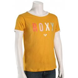 Roxy Girl's Come Alive B T-Shirt - Mineral Yellow - XL