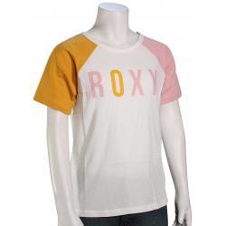 Roxy Girl's Every High B T-Shirt - Mineral Yellow - XL