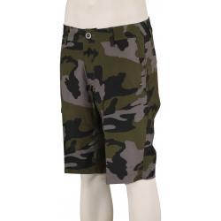 Fox Essex Tech Print Shorts - Green Camo - 40