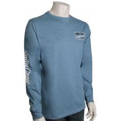 Salty Crew Tuna Isle Tech LS T-Shirt - Harbor - XXL