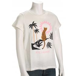 Billabong Girl's Wild Cat T-Shirt - Salt Crystal - L