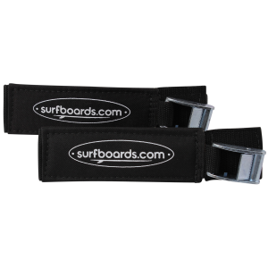 Buy Surfboards.com Premium Tie Down Straps - Black Online