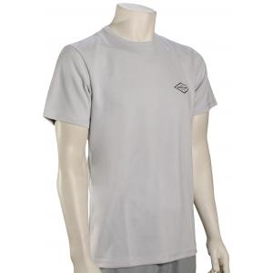 Quiksilver Waterman Gut Check SS Surf Shirt - White - XXXL