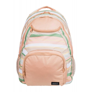 Roxy Shadow Swell 24L Backpack - Turf Green Dreaming Stripe
