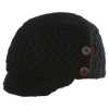 Chaos Womens Ripple Knit Cap