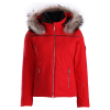 Descente Raven Womens Ski Jacket With Racconn Fur