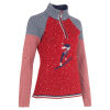Neve Womens Flora Zip Neck Sweater