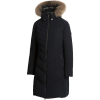 Sunice Womens Victoria Long Coat W/ Fur