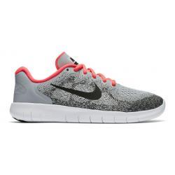 Kids Nike Free RN 2017 Running Shoe(4.5Y)