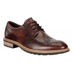 Mens Ecco Vitrus I Wingtip Tie Casual Shoe(10.5)
