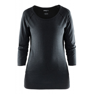 Womens Craft Cool Seamless Touch Sweatshirt Long Sleeve Technical Tops(M/L)