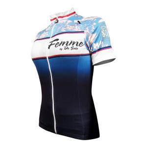 Womens De Soto Femme Bike Jersey Short Sleeve Technical Tops(M)