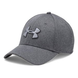 Mens Under Armour Heathered Blitzing Cap Headwear(L/XL)
