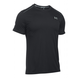Mens Under Armour CoolSwitch Run V2 Short Sleeve Technical Tops(L)