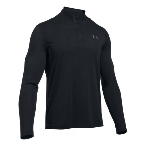 Mens Under Armour Threadborne 1/4 Zip Half-Zips and Hoodies Technical Tops(L)