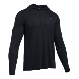Mens Under Armour Threadborne Half-Zips & Hoodies Technical Tops(L)