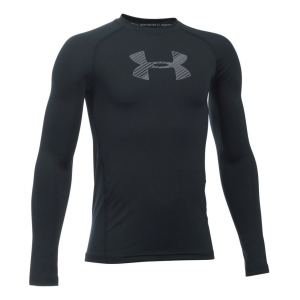 Under Armour Boys Long Sleeve Technical Tops(YXL)