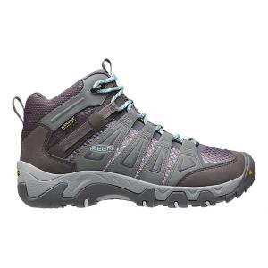 Womens Keen Oakridge Mid WP Hiking Shoe(10)