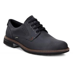 Mens Ecco Turn GTX Plain Toe Tie Casual Shoe(10.5)