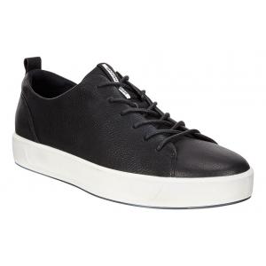 Mens Ecco Soft 8 Tie Casual Shoe(5.5)